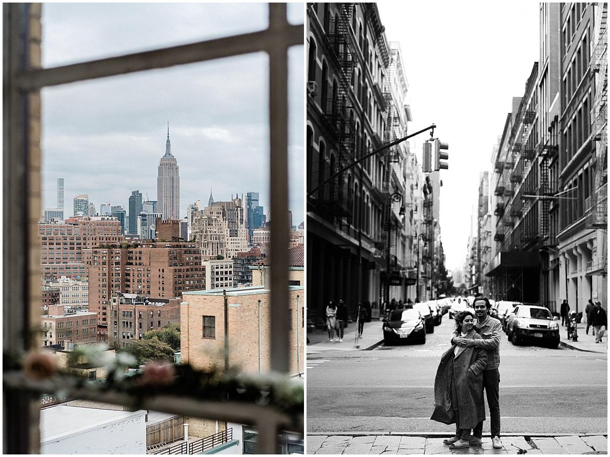 Engagement photographer destination wedding New York