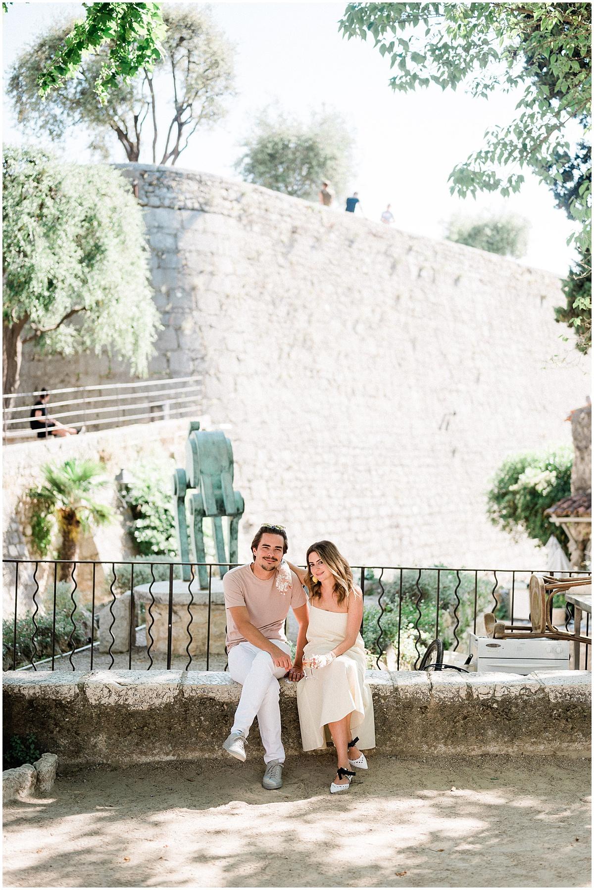 Destination wedding anniversary French Riviera Photographer