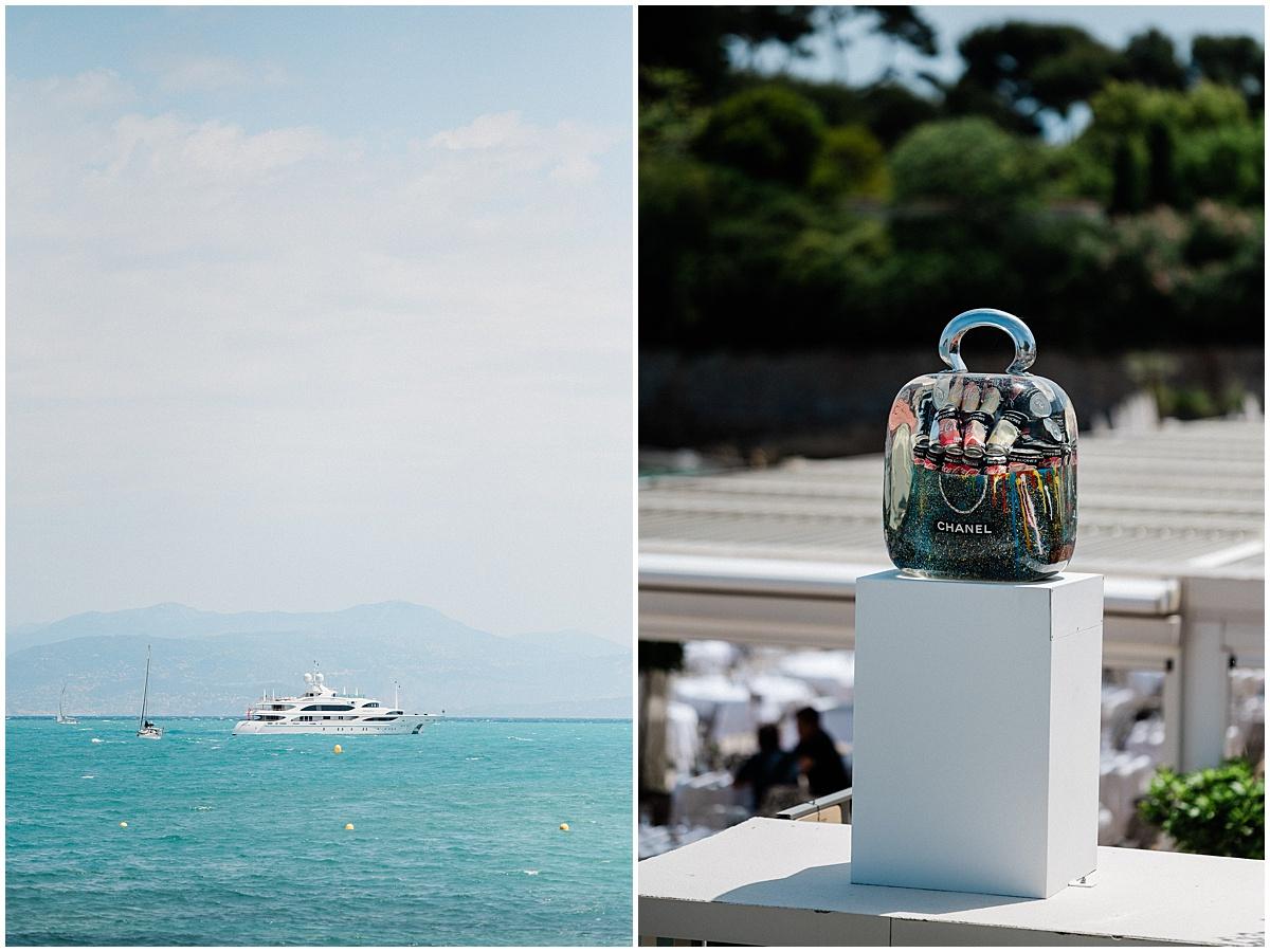 Plage Keller Antibes French Riviera luxury  Wedding