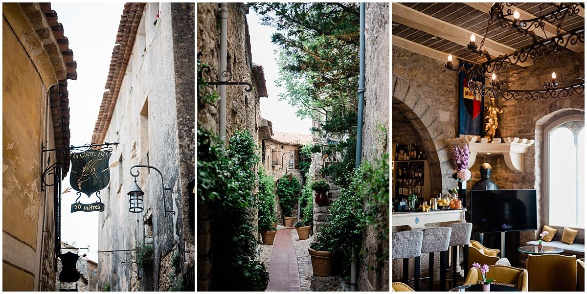 Chateau Chevre D'or EZE Destination Wedding photographer