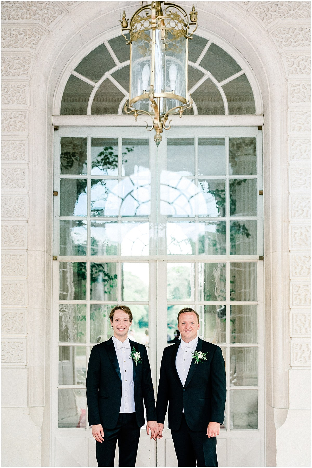 American gay wedding Chateau Baronville Paris Fine Art Photographer