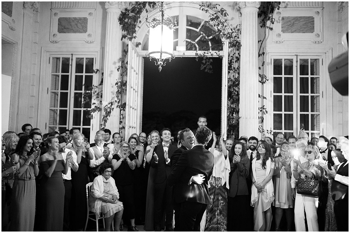 Chateau de Baronville American gay Wedding photographer