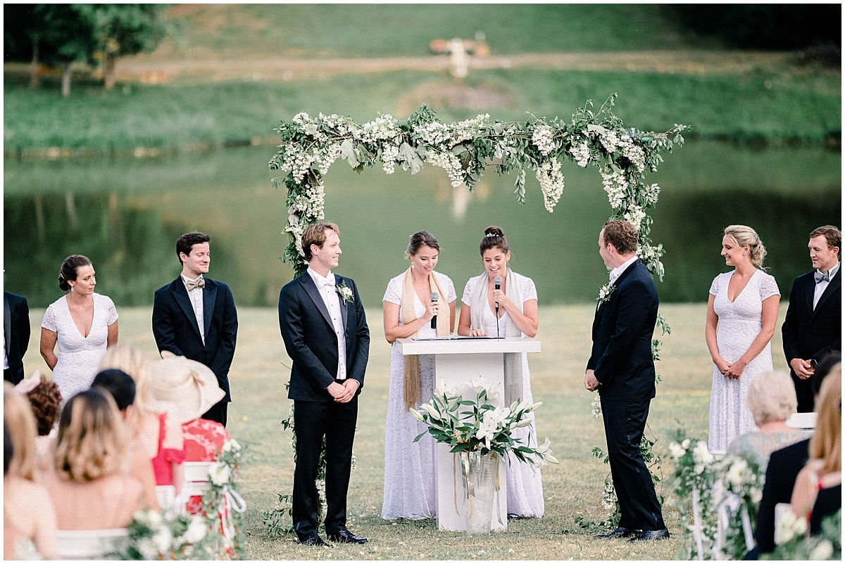 chateau baronville paris destination wedding fineart ceremony Gay