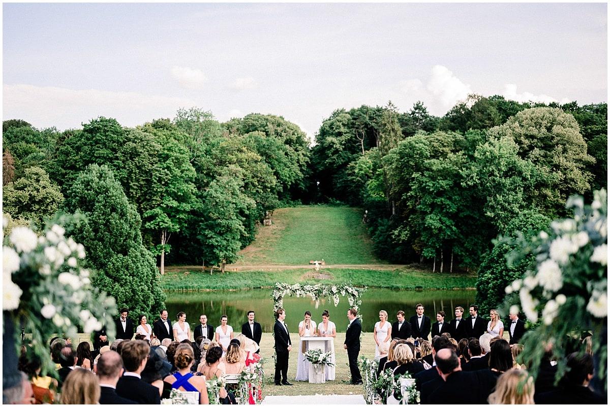 ceremony chateau baronville paris destination wedding fineart