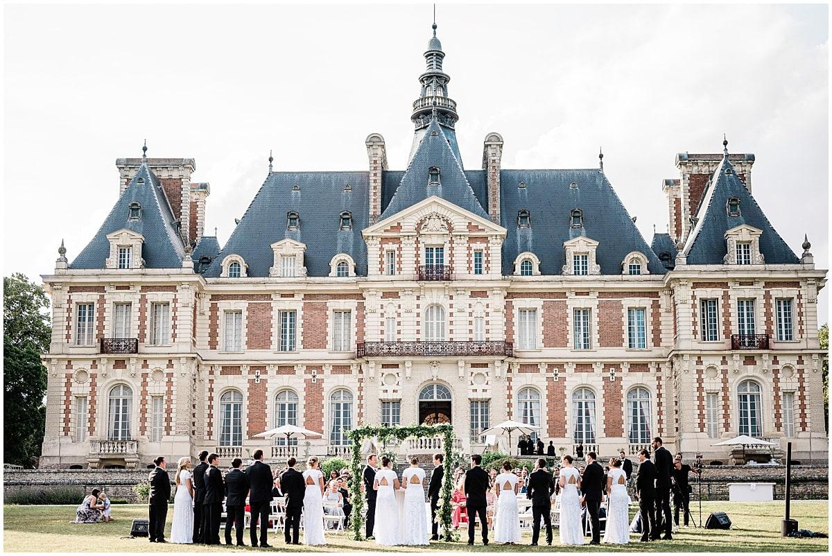 destination wedding fineart chateau baronville paris