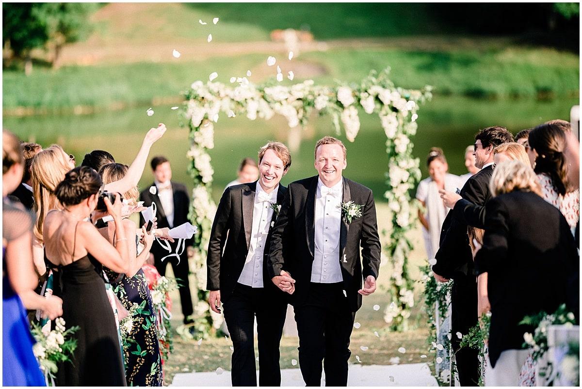 destination gay wedding fineart
