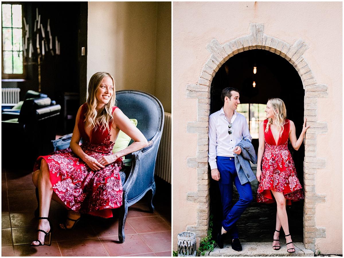 provence fine art couple wedding engagement