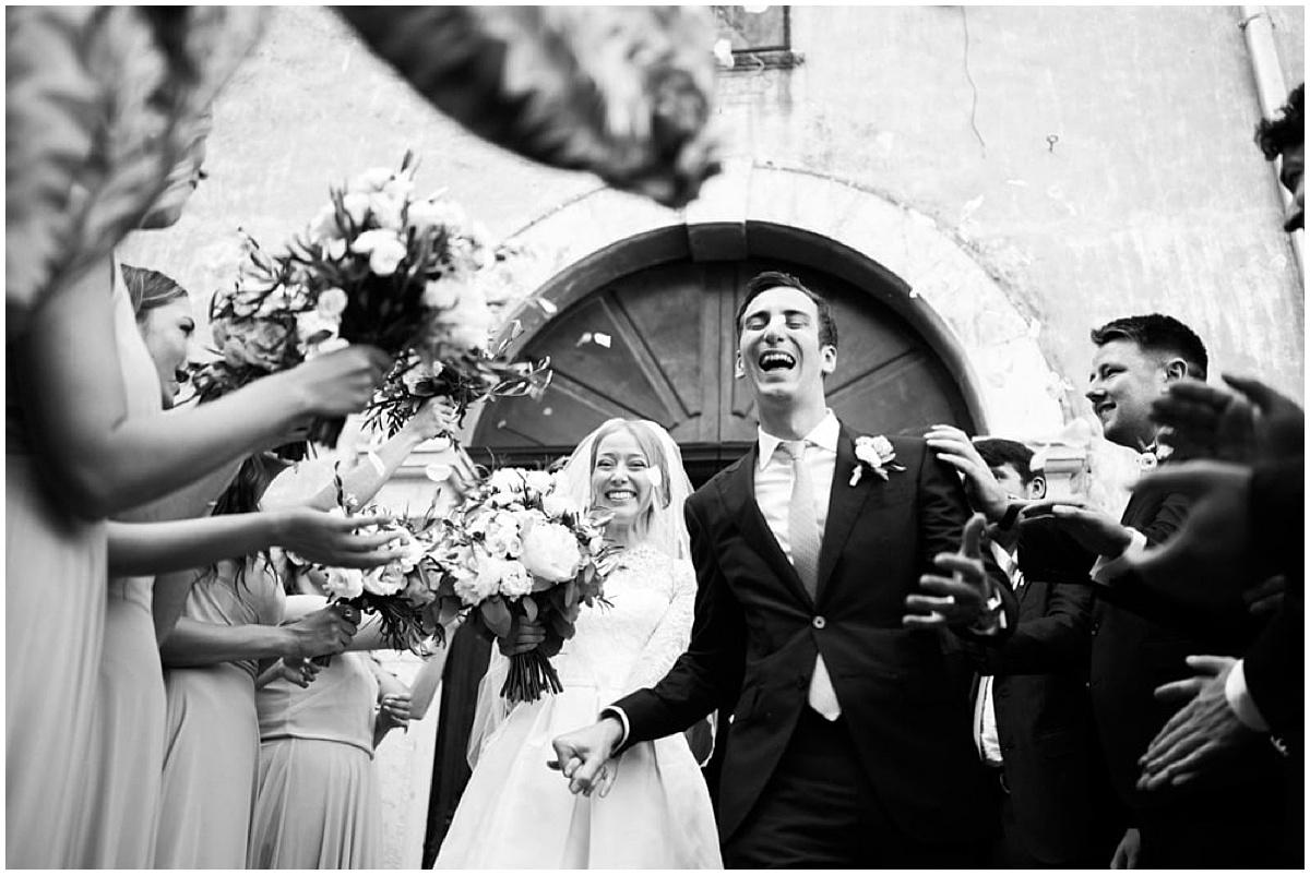 american wedding ceremony france church provence