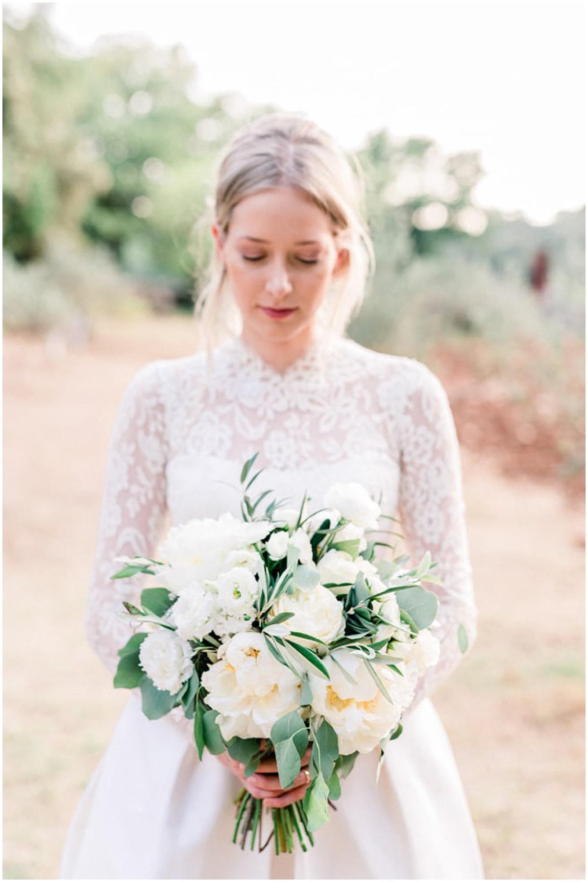 bride fine art wedding provence